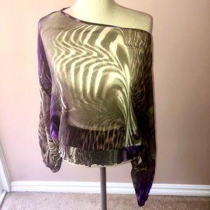 Bebe silk tunic